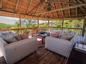 Bukela Game Lodge Deck Area