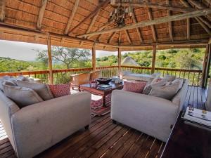 Bukela Game Lodge Deck Area