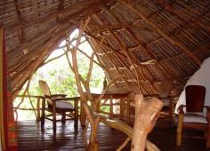 Nkwichi Lodge Makolo house Interior