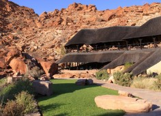 Twyfelfontein Country Lodge Camp Exterior