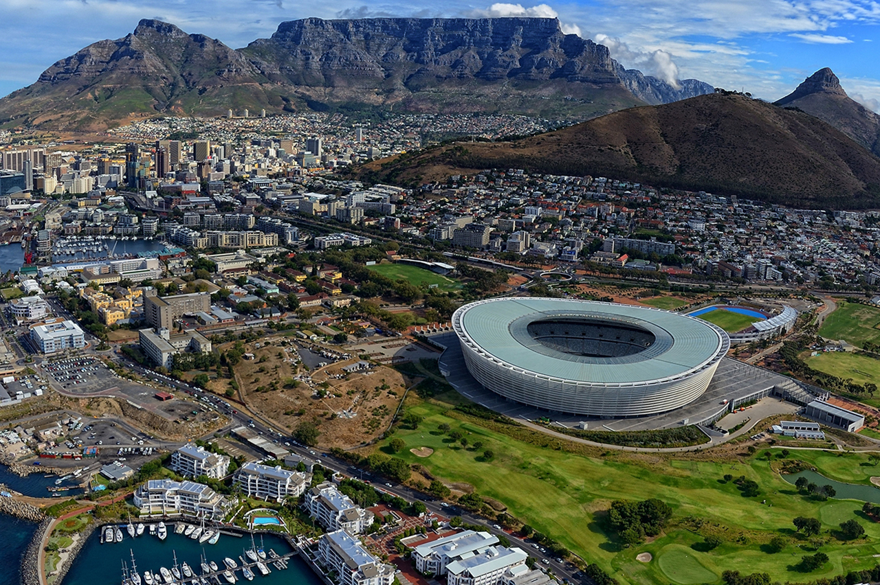 The City Bowl is centred in the heart of Cape Town's beating heart  Credit: Journey in Style