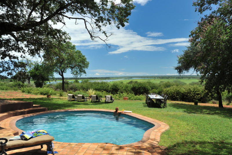 Imbabala Zambezi Safari Lodge pool - Victoria Falls and Canoeing Fly In - Zimbabwe - Zambezi River