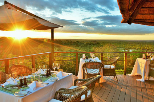 New restaurant at Victoria Falls Safari Club