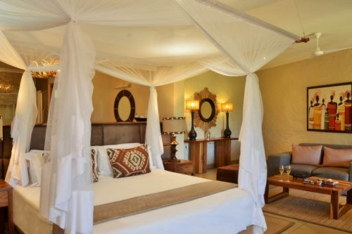 Victoria Falls Safari Club Suite room