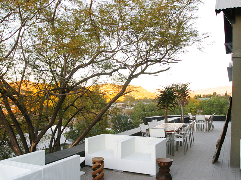 the olive exclusive - windhoek-accommodations-namibia-destinations-journey-in-style-southern-africa-view-from-the-restaurant-deck